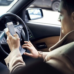 Crackdown targeting on-road phone use gets results