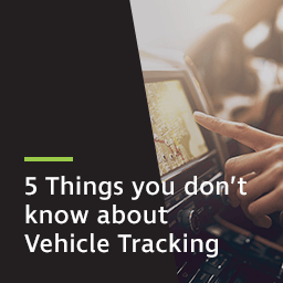 5 things you don't know about vehicle tracking