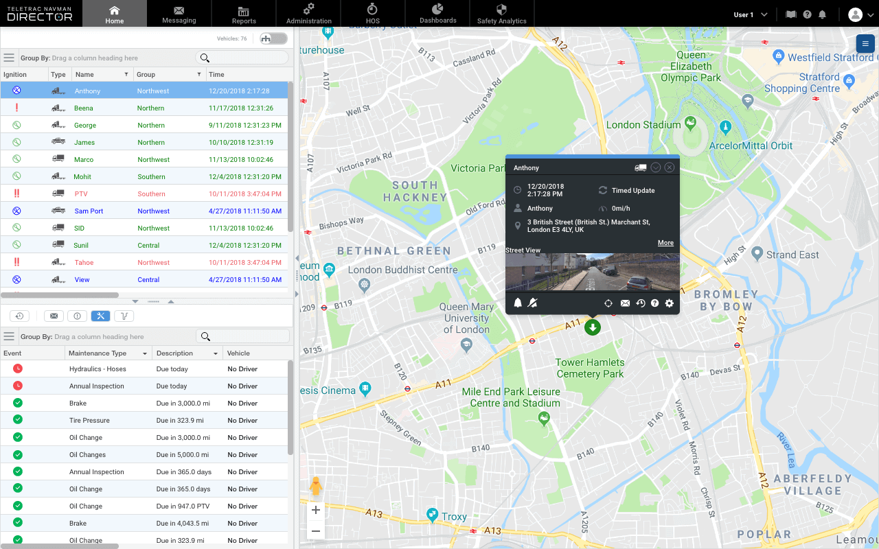 DIRECTOR UK Fleet Tracking Desktop (1)