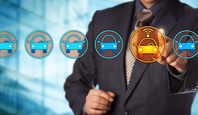 Selecting a vehicle tracking system for an enterprise business